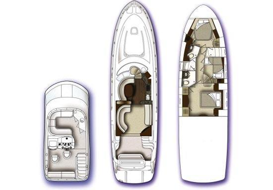 2008 Sea Ray 58 Sedan Bridge Image Thumbnail #54