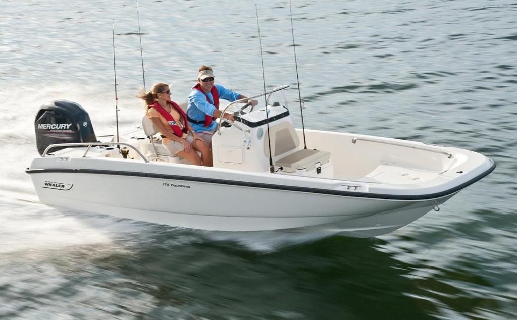 2019 Boston Whaler 170 Dauntless Image Thumbnail #7