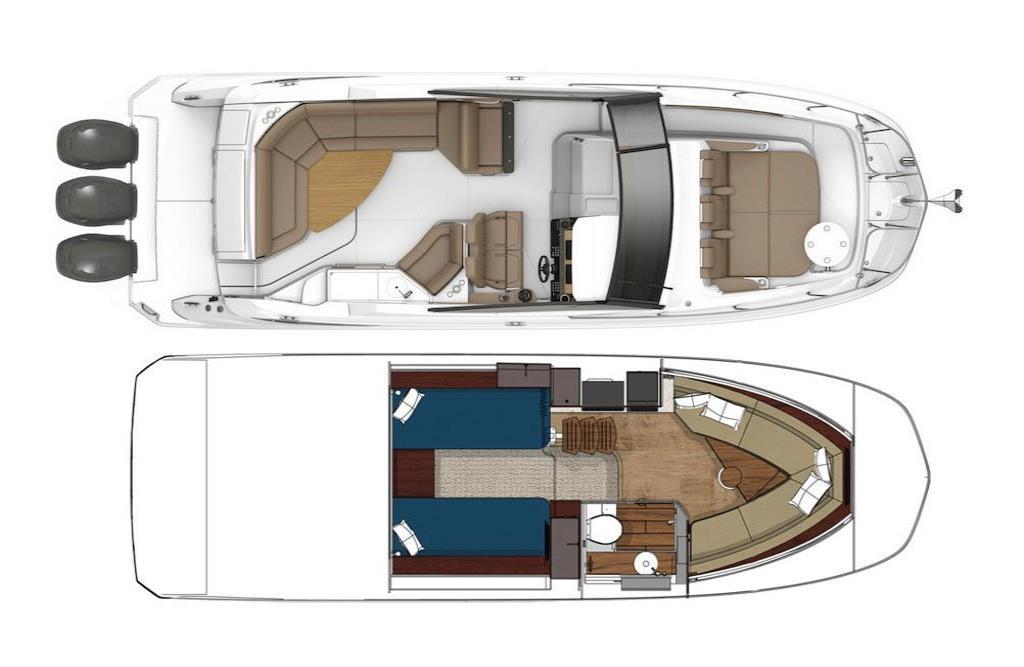 2020 Sea Ray Sundancer 320 Outboard Image Thumbnail #46