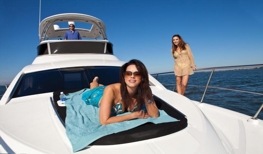 2012 Sea Ray 450 Sedan Bridge Image Thumbnail #1