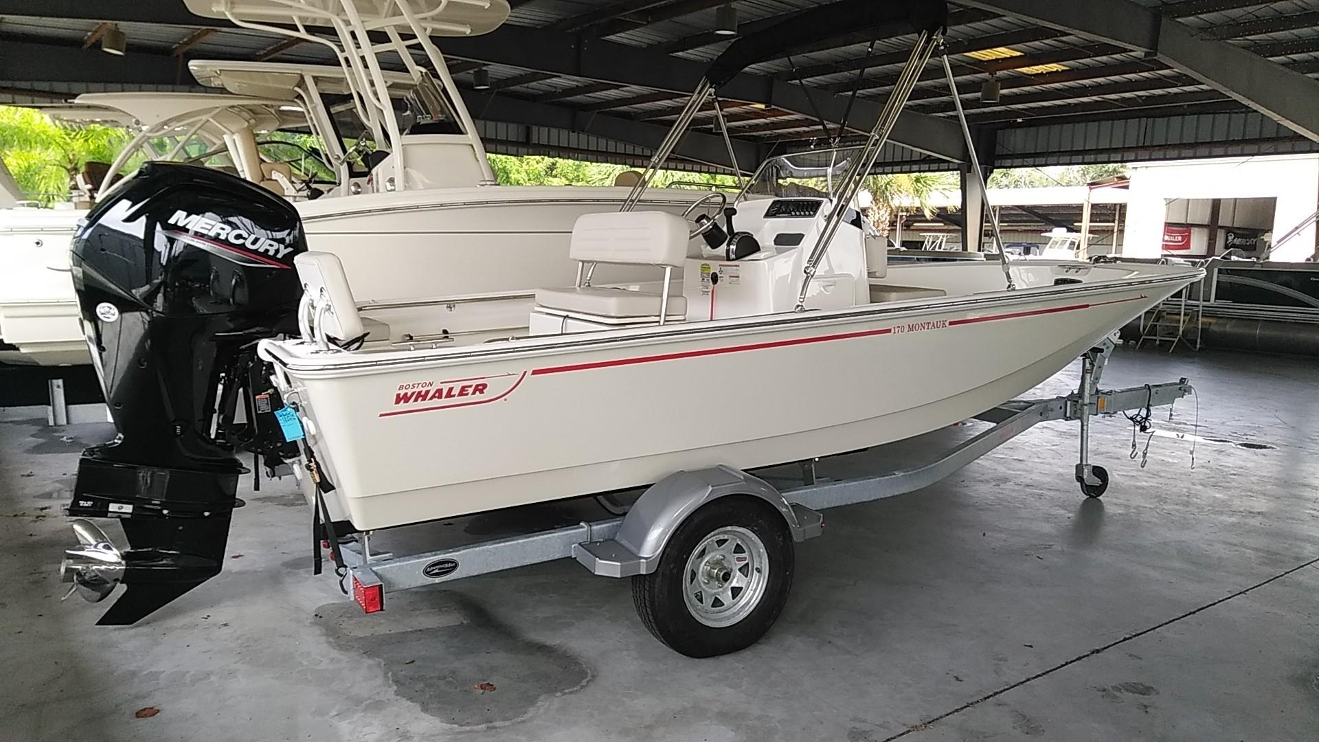 2020 Boston Whaler 170 Montauk Image Thumbnail #1