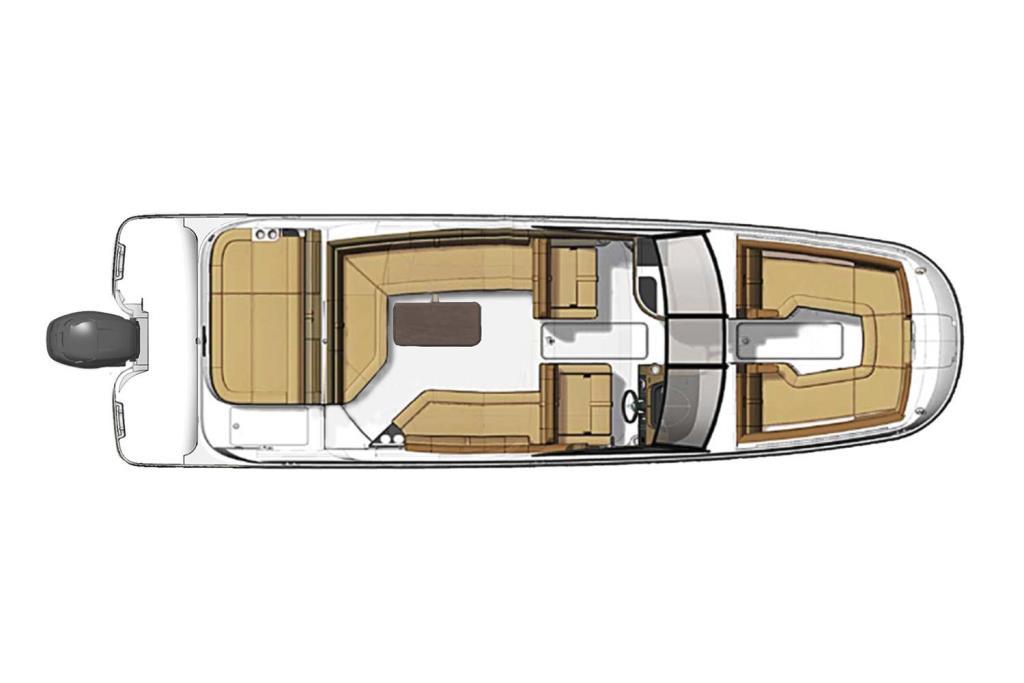 2020 Sea Ray SDX 270 Outboard Image Thumbnail #29
