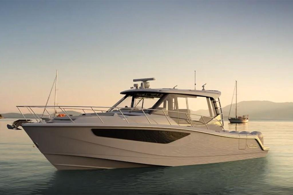 Thumbnail 3 for 2021 Boston Whaler 405 Conquest