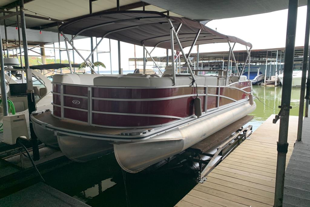 2014 Harris Pontoons 250 Grand Mariner