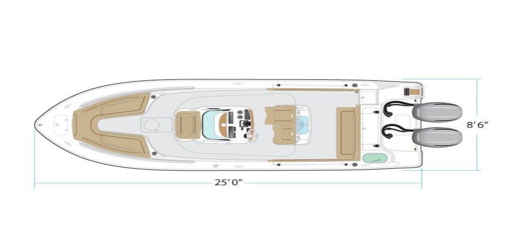 2020 NauticStar                                                              25 XS Offshore Image Thumbnail #19