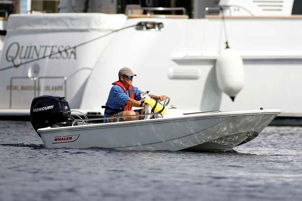 2021 Boston Whaler                                                              110 Sport Image Thumbnail #2