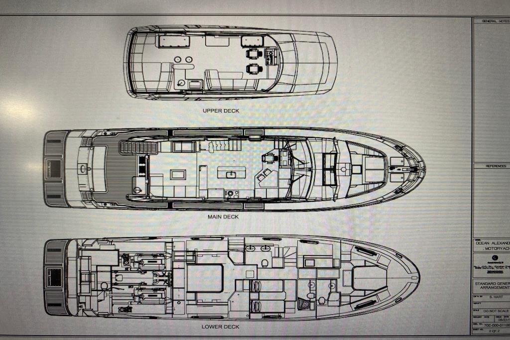 2017 Ocean Alexander                                                              70E Motoryacht Image Thumbnail #57