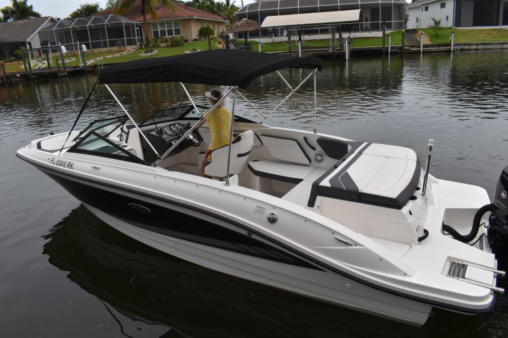 2017 Sea Ray                                                              21 SPX Outboard Image Thumbnail #2