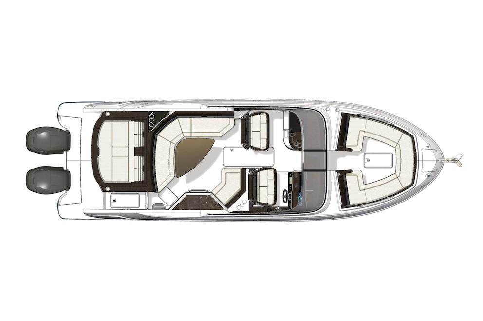 2021 Sea Ray                                                              SLX 310 OB Image Thumbnail #20